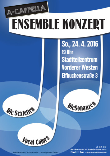 Ensemblekonzert 24.4. 2016